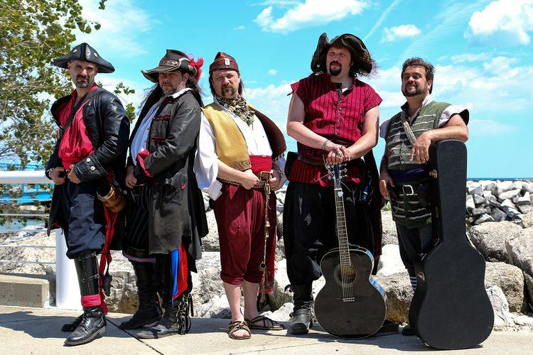 The Jolly Rodgers Shanty Band